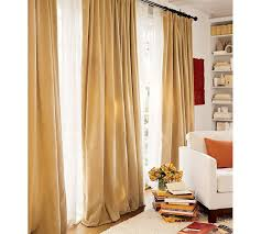 Pottery Barn Linen Curtains Curtainworks Messina Opulent Velvet Lined Drapery Copycatchic