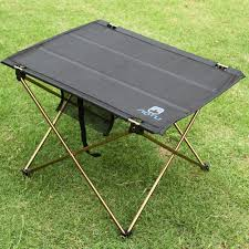 portable folding picnic table lightweight aluminium folding table banginbuys