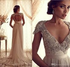 wedding dress vintage tassel lace wedding dress inspired v open back