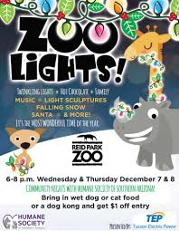 Zoo Lights Az by Zoo Lights Community Nights Make The Holidays U201cpaw Some U201d For
