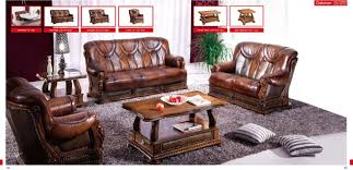 Leather Livingroom Furniture Oakman Living Room Set Brown Leather Living Room Set Sofa Lo