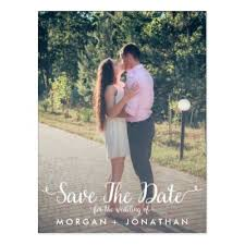save the date template photo save the date postcard zazzle