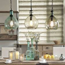 kitchen superb clear glass kitchen island pendants globe pendant
