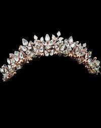 wedding crowns wedding crown rich gold pearl and leaf headpiece