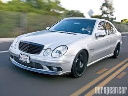 2005 mercedes amg e55 2005 mercedes e55 amg european car magazine