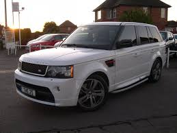 land rover range rover white land rover range rover sport 3 0 sd v6 hse red edition factory