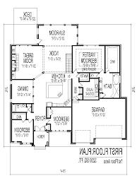 Bungalow Floor Plan 3 Bedroom Bungalow Floor Plan Measurement House Design And Planning