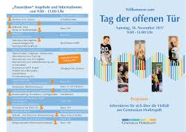 Offene K He Gymnasium Horkesgath Infoabend Für Eltern Mit Kindern Im 4