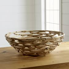 Decorative Fillers For Bowls Decorative Centerpiece Bowls Glass U0026 Metal Crate And Barrel