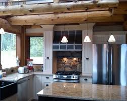 charming log home kitchen design h75 for your home decoration for