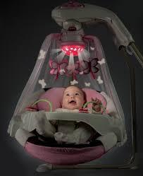 Swinging Baby Chairs Fisher Price Moonlight Meadow Deluxe Cradle U0027n Swing Baby Swings