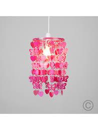 girls heart bedroom ceiling lamp shade valuelights uk