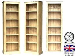 solid pine bookcase pine bookcase unfinished image of unfinished