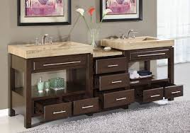 Bathroom Double Sink Cabinets by Winsome Vintage Double Sink Vanity Dresser Plus Steel Taps Under