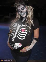 Womens Skeleton Halloween Costume Rasta Prego Skeleton Halloween Costume Idea Women