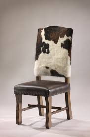 Dining Chairs Rustic Cowhide Dining Chair Bar Stool Counter Stool Rustic Artistry