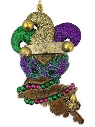 jester fleur de lis ornament fleurty
