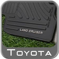 floor mats for toyota 2013 2015 toyota land cruiser rubber floor mats from