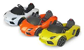 lamborghini children s car children s lamborghini aventador 6v ride on car groupon