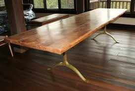 reclaimed dining room tables home rustic round dining room tables brown lacquer finish oak wood