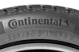 How To Read Dimensions How To Read A Tire Sidewall Continental