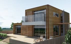 photo gallery model of modern wooden minimalist home design