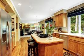Built In Kitchen Islands by Built In Stove Kitchen Painted White Kitchen Cabinets Wooden