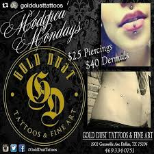 gold dust tattoo tattoos u0026 piercings