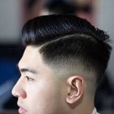 asian male side comb hair cool comb over fade asian short hairstyles 2017 for men men s