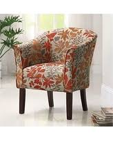 spectacular deal on barrel back dark brown accent chair coaster