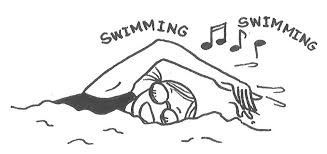 swimmer drawing pics