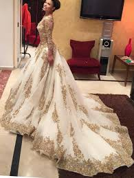 aliexpress com buy 2016 ball gown long sleeve prom dresses