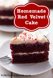 homemade red velvet cake recipe hillbilly housewife
