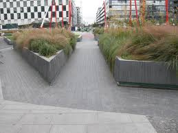 grand canal square landscape architects pages dublin ireland