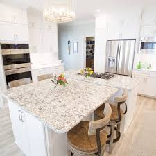 white kitchen cabinets with quartz countertops tim and marguerite cabinet depot