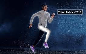 trend fabrics in the spring and summer of 2018 sportswear