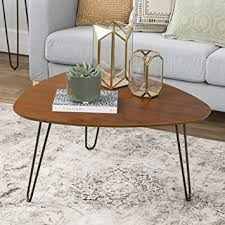 Hairpin Legs Coffee Table We Furniture 32 Hairpin Leg Wood Coffee Table