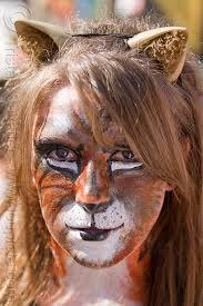 tiger headband tiger paint cat ears headband