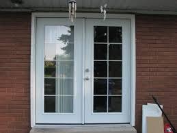Center Swing Patio Doors Patio Doors With Side Screens Simonton Swinging Door Hinged