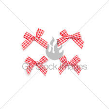 checkered ribbon checkered ribbon ties gl stock images
