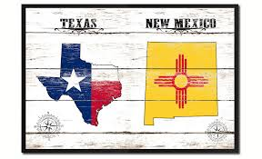 new mexico home decor texas u0026 new mexico state flag gifts home decor wall art canvas