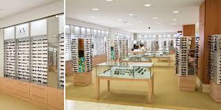 rpg macy s eyewear retail environment display cases fixtures