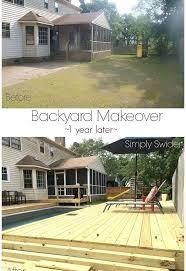 Diy Small Backyard Makeover Backyard Makeover One Year Later Hometalk
