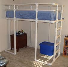 Jeep Bunk Bed Twin Size Loft Bed Made From Pvc Water Pipe 3 Steps