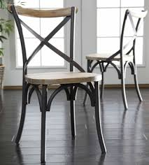 steel dining room chairs dining room basket style white metal dining chairs with wooden