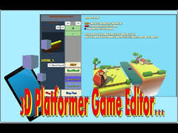 platform game with level editor my game level editor for a 3d platform game web pc ios youtube