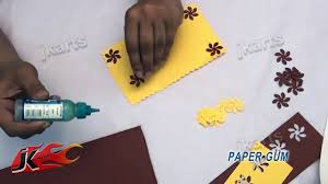 diy punch craft new year greeting card project for kids jk