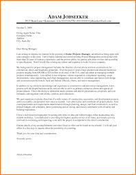 It Program Manager Resume Sample Trauma Program Manager Cover Letter Infrastructure Team Leader