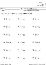 primaryleap co uk equivalent fractions worksheet