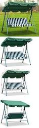 Glider Swings With Canopy by Swings 79700 3 Seater Patio Canopy Swing Glider Outdoor Backyard